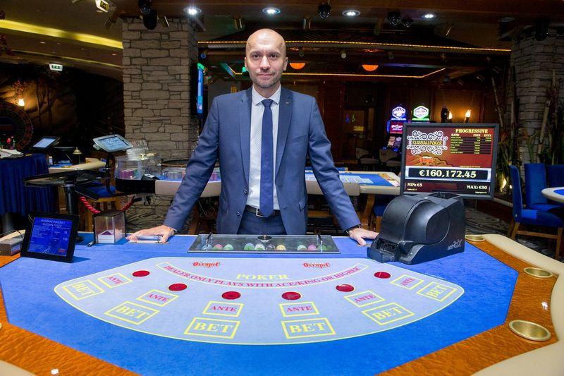 """Saulius Petravičius, UAB """"Olympic Casino Group Baltija"""" generalinis direktorius. Juditos Grigelytės (VŽ) nuotr."""