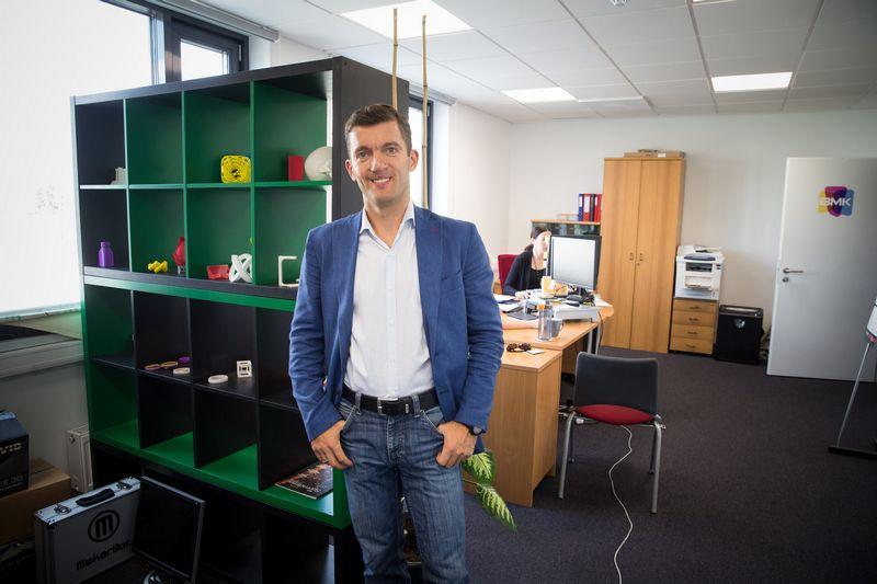 """Simonas Stūrys, """"Atea"""" rinkodaros direktorius. Vladimiro Ivanovo (VŽ) nuotr."""