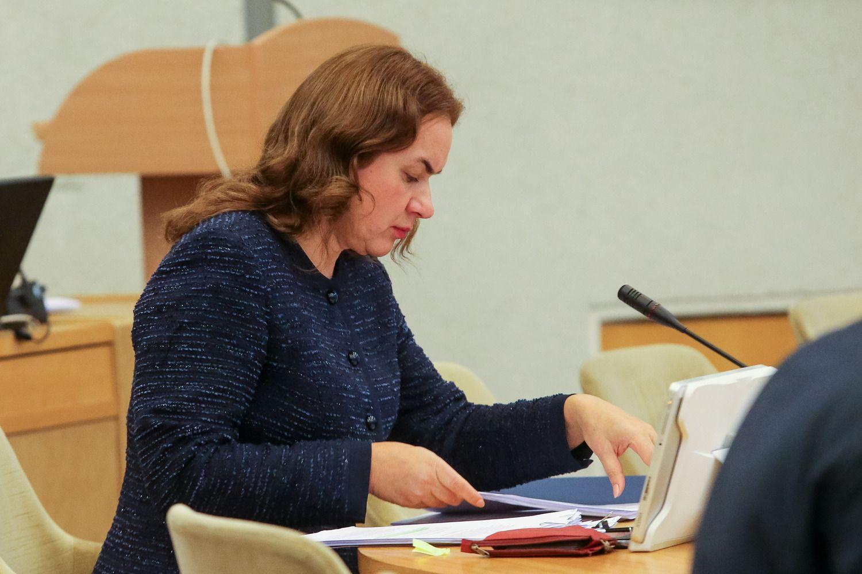 Eksministrė siūloma į Seimo kontrolierius