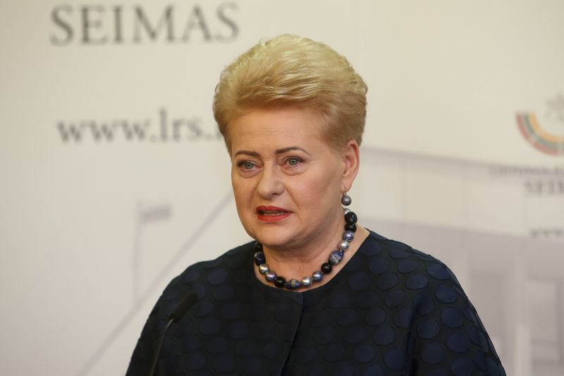 Prezidentė Dalia Grybauskaitė Seime. Vladimiro Ivanovo (VŽ) nuotr.