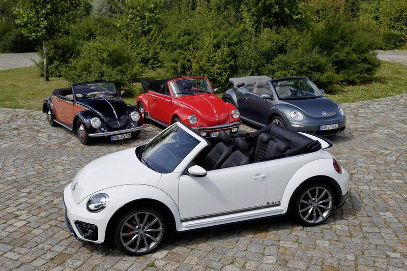 """Nuo 1938 metų iki dabar pagaminta per 21,5 mln. """"VW Beetle"""" automobilių. Gamintojo nuotr."""