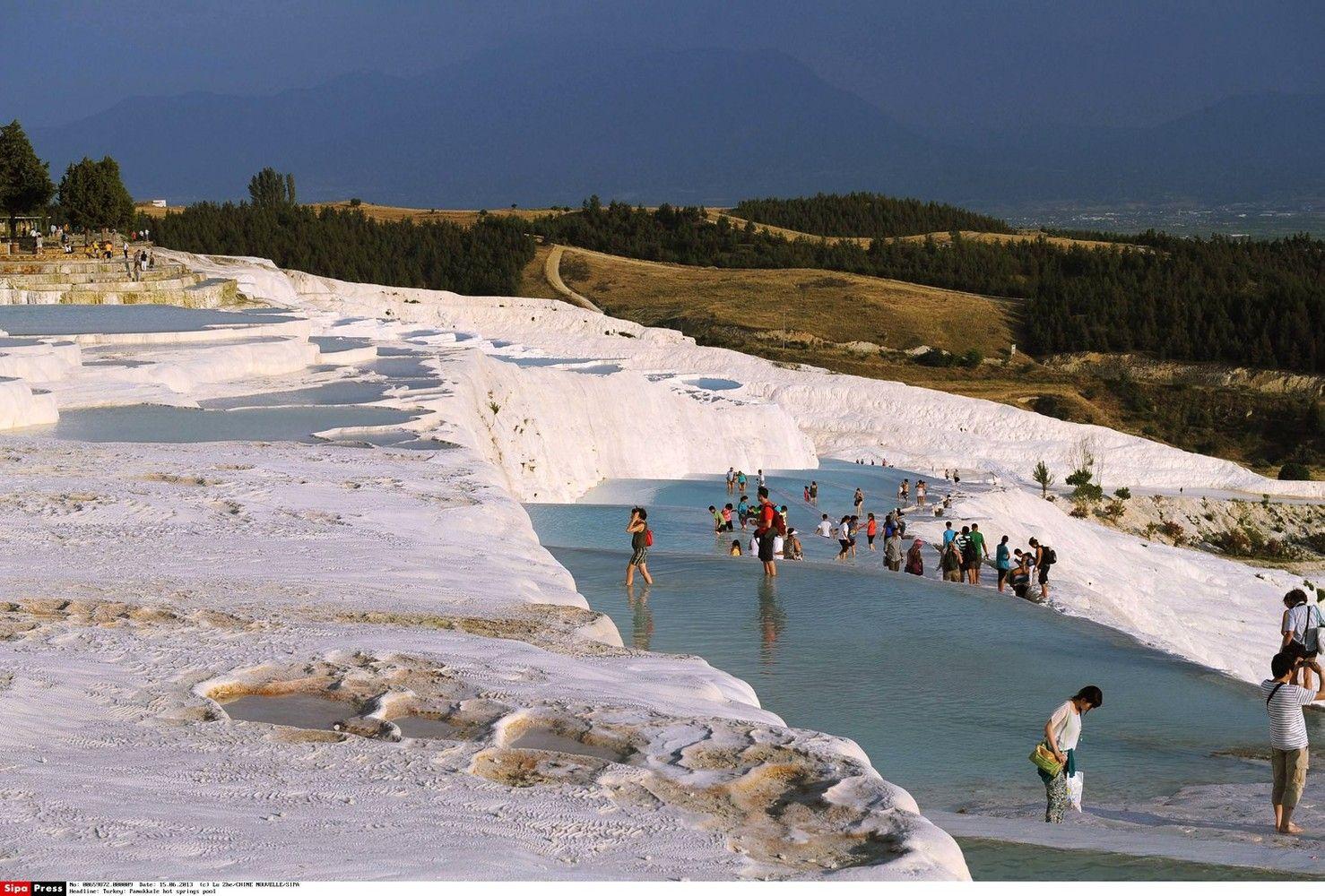 Turkijoje brangsta bilietai į Pamukalę ir kitus turistinius objektus