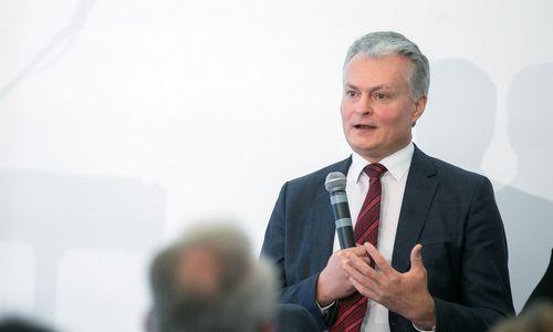 Gitanas Nausėda praneš dėl dalyvavimo prezidento rinkimuose