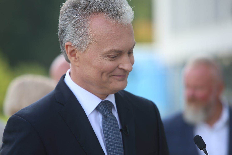 Gitanas Nausėda pranešė dalyvausiąs prezidento rinkimuose