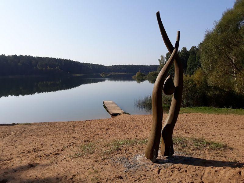 Prie Gėlos ežero. Zigmo Latako nuotr.