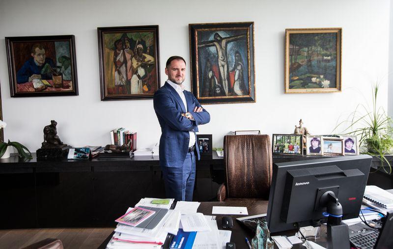 """Vilius Kavaliauskas, """"Lewben Group"""" valdybos pirmininkas. Juditos Grigelytės (VŽ) nuotr."""