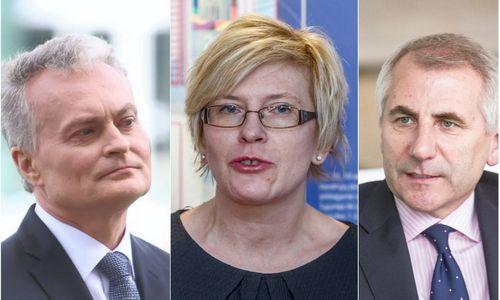 Konservatorių pirminiams prezidento rinkimams liko trys kandidatai