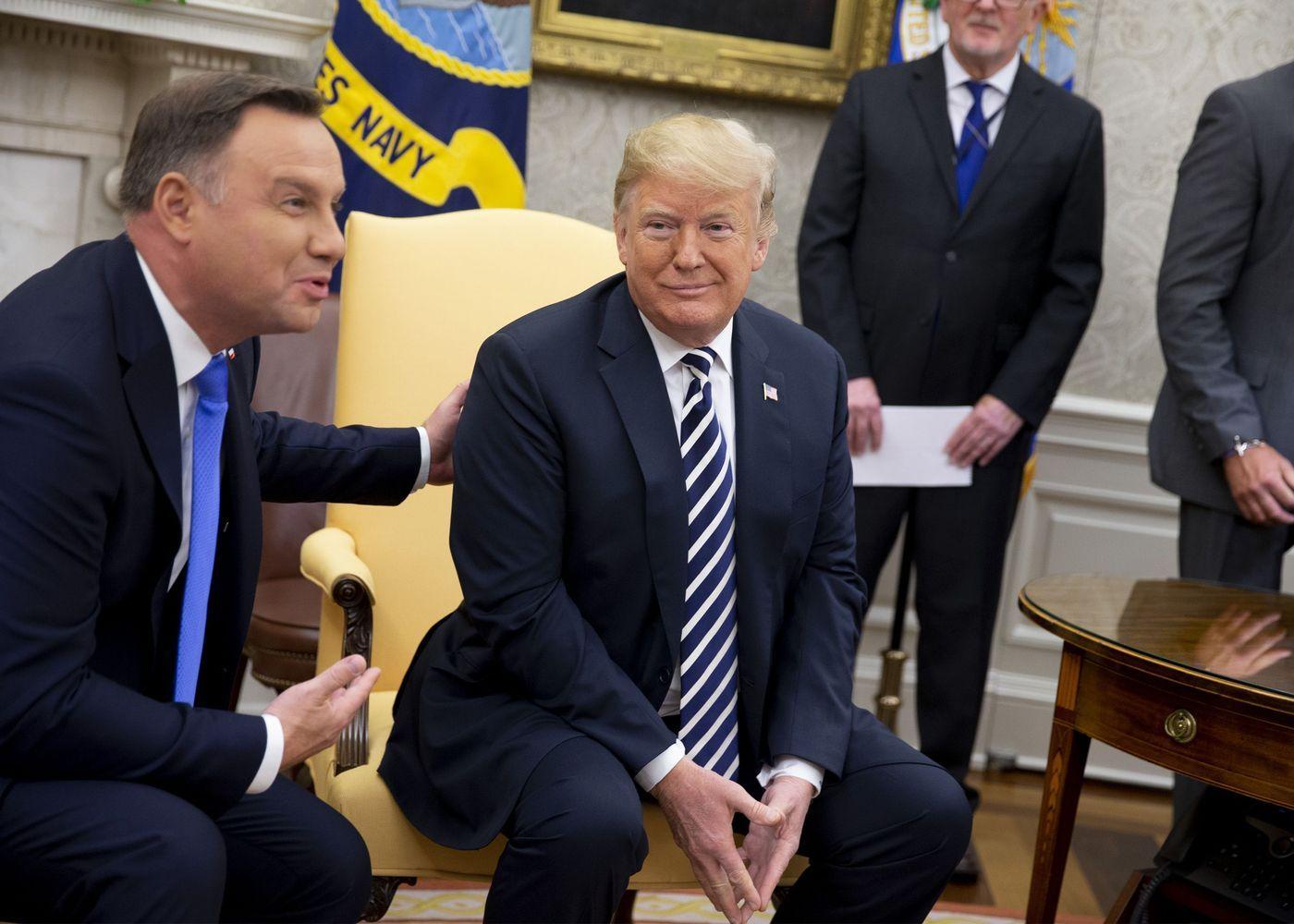 JAV svarsto Lenkijos prašymą steigti nuolatinę karinę bazę šalyje