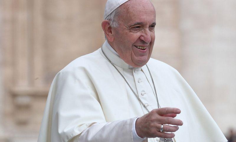 Popiežius Pranciškus. Reuters / Scanpix nuotr.
