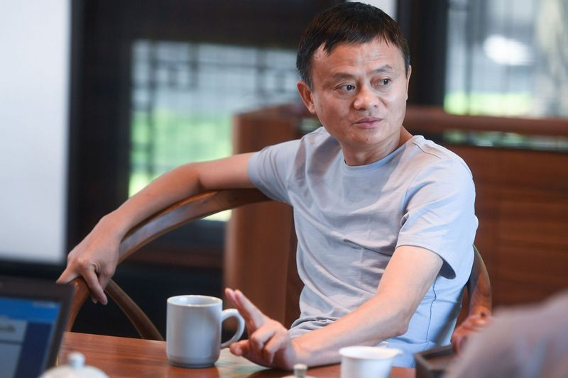"Jackas Ma.Chine Nouvelle (""Sipa"" / ""Scanpix"")"