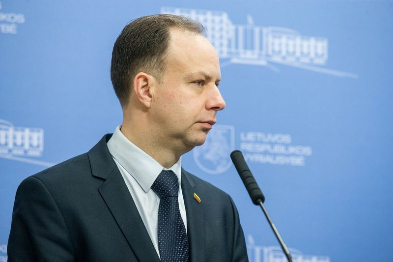 Sveikatos apsaugos ministras Aurelijus Veryga. Juditos Grigelytės (VŽ) nuotr.