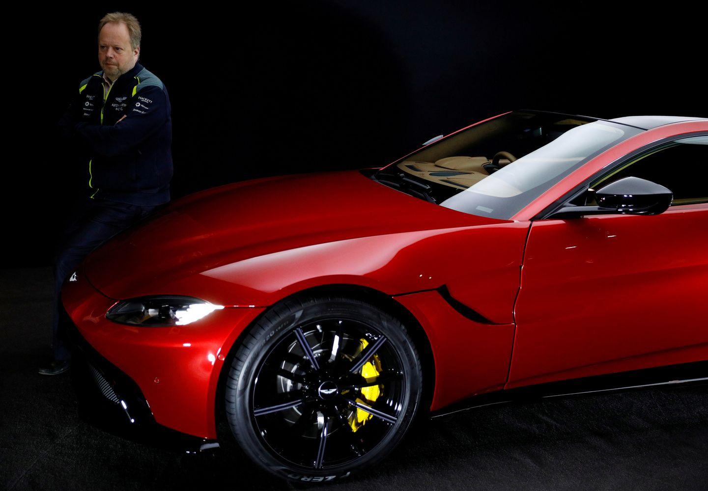 """""""Aston Martin"""" ateina į biržą"""