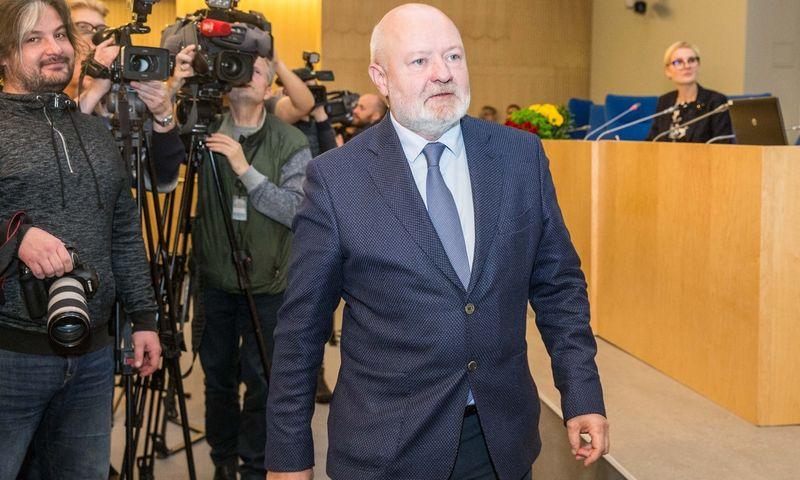Eugenijus Gentvilas. Juditos Grigelytės (VŽ) nuotr.