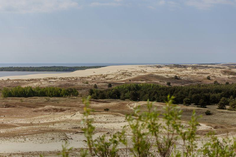 Mirties slėnis tarp Parnidžio ir Skalndytojų kopų. Neringos miesto savivaldybės nuotr.