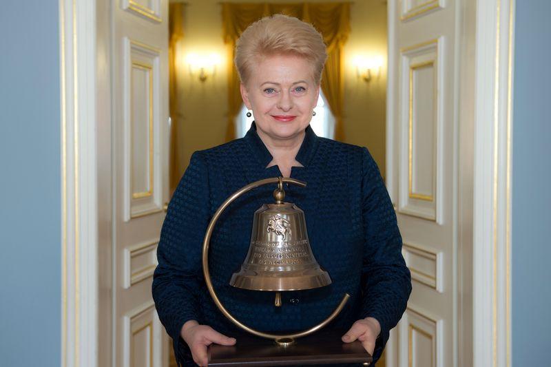 Prezidentė Dalia Grybauskaitė. Prezidentūros nuotr.