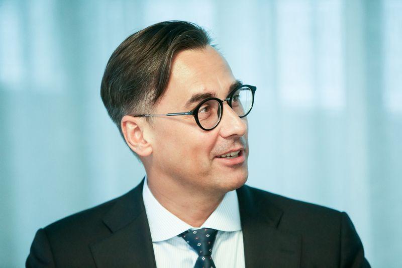 """Kęstutis Juščius, """"Auga Group"""" valdybos pirmininkas: """"Ekologiškų produktų sektorius auga sparčiais tempais"""". Vladimiro Ivanovo (VŽ) nuotr."""