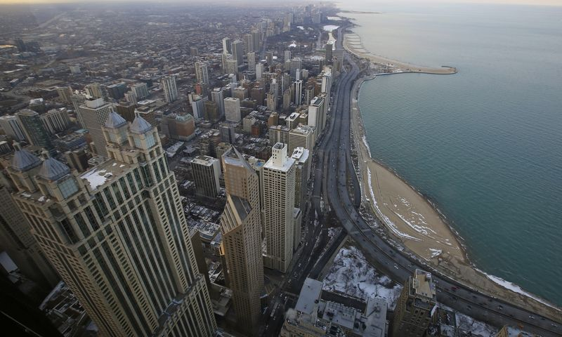 "Čikaga. Jimo Youngo (""Reuters""/""Scanpix"") nuotr."