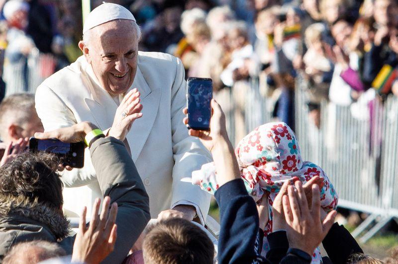 Popiežiaus Pranciškaus viešnagė Lietuvoje rugsėjo 22 ir 23 d. Eriko Ovčarenko (15 min.) nuotr.