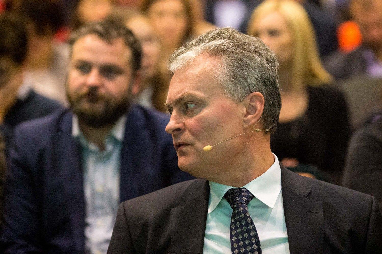 Nausėda nedalyvaus konservatorių pirminiuose kandidato į prezidentus rinkimuose