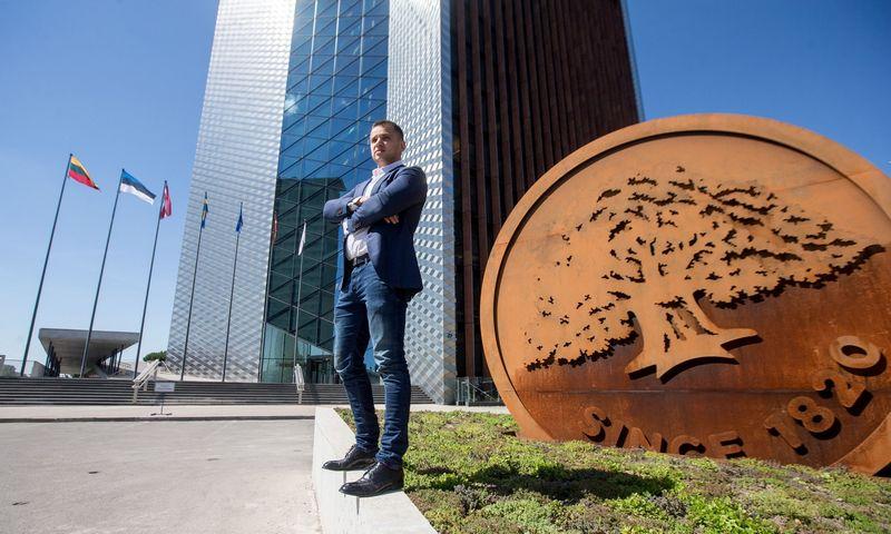 """Renatas Žeknys, AB """"Swedbank"""" Investavimo produktų srities vadovas. Juditos Grigelytės (VŽ) nuotr."""