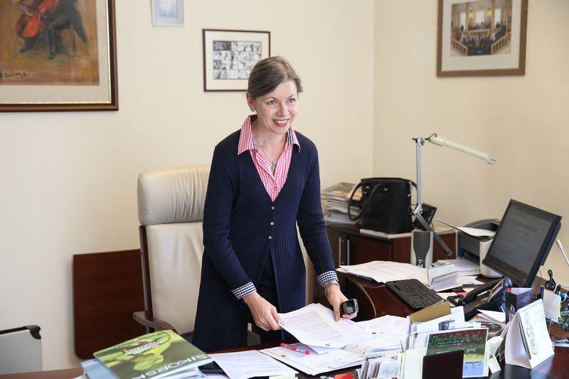 Rūta Prusevičienė, Nacionalinės filharmonijos generalinė direktorė. Vladimiro Ivanovo (VŽ) nuotr.