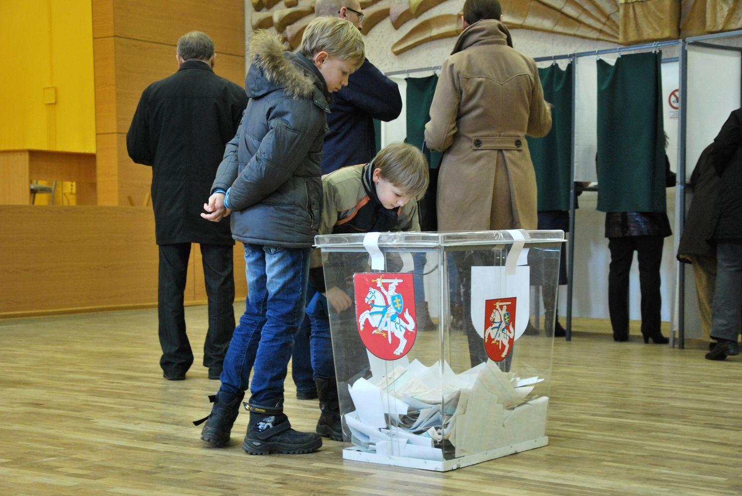 Paskirtos trijų kitąmet įvyksiančių rinkimų datos