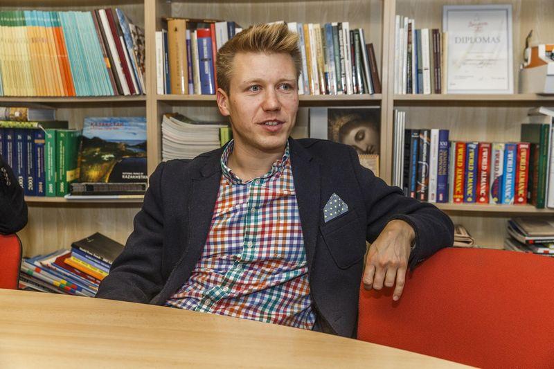 """Mindaugas Mizaras, """"Tamo grupės"""" strategijos ir verslo vystymo vadovas bei valdybos narys. Vladimiro Ivanovo (VŽ) nuotr."""