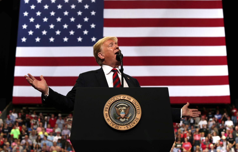 Amerikiečių laukia dar vienas rinkimų išbandymas, pasitikrins ir Trumpas