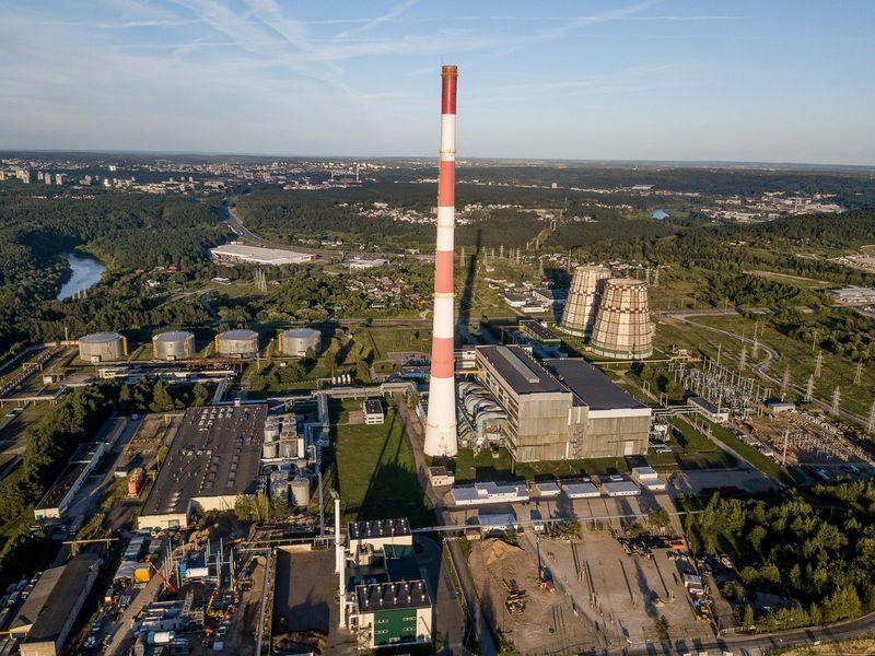 Statoma Vilniaus kogeneracinė jėgainė. Vladimiro Ivanovo (VŽ) nuotr.