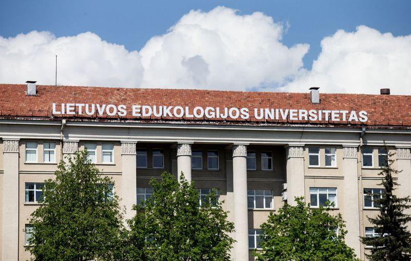 Vilniaus miesto vaizdai. Lietuvos edukologijos universitetas. Juditos Grigelytės (VŽ) nuotr.