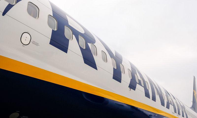 """""""Ryanair"""" lėktuvas. Vladimiro Ivanovo (VŽ) nuotr."""