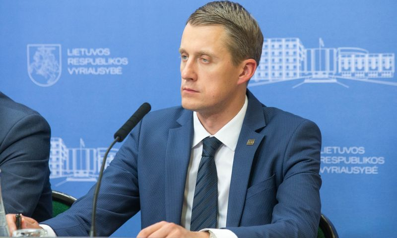 Energetikos ministras Žygimantas Vaičiūnas. Juditos Grigelytės (VŽ) nuotr.