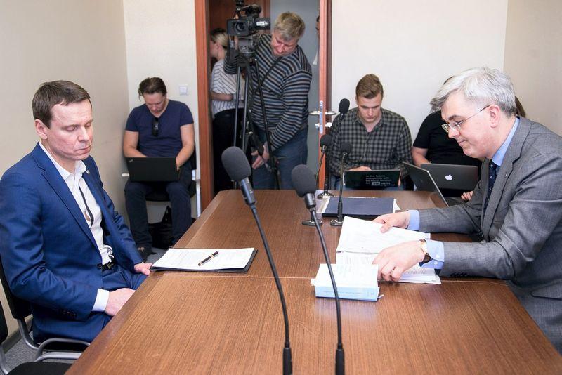 Raimondas Kurlianskis ir  Justas Laucius. Žygimanto Gedvilos (15min.lt) nuotr.