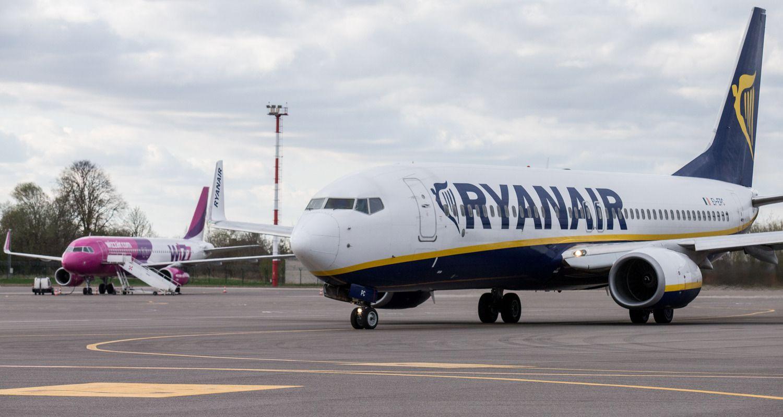 """""""Ryanair"""" atšaukia skrydžius iš Lietuvos į Madridą, Barseloną ir Žironą"""