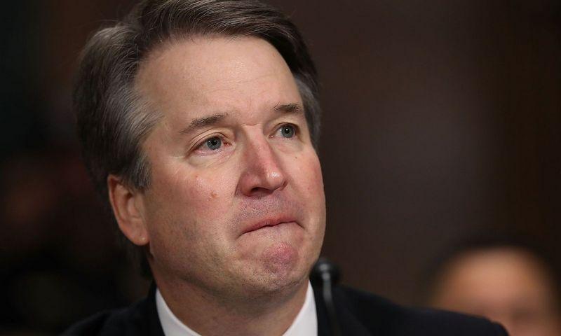 """Brettas Kavanaugh, kandidatas į JAV Aukščiausiojo teismo teisėjus. SIPA / """"Scanpix"""" nuotr."""