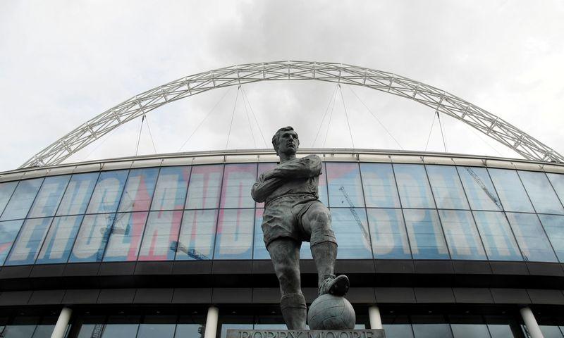 """Wembley"" stadiono prieigos. ""Reuters"" / ""Scanpix"" nuotr."