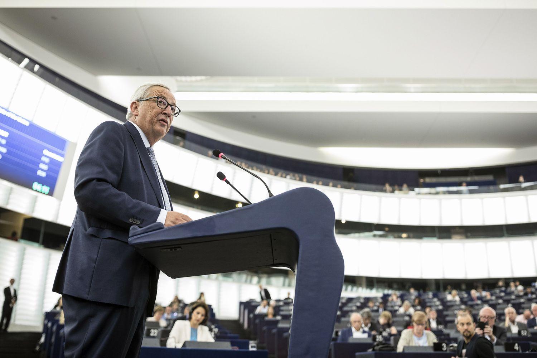 Junckerio džiazas: paskutinė EK vadovo kalba