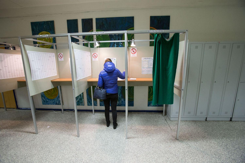 Dėl rinkimų Zanavykų apygardoje Lietuvoje draudžiama rinkimų agitacija