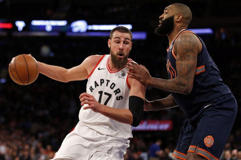"""NBA rungtynės, Jonas Valančiūnas. """"Reuters"""" / """"Scanpix"""" nuotr."""
