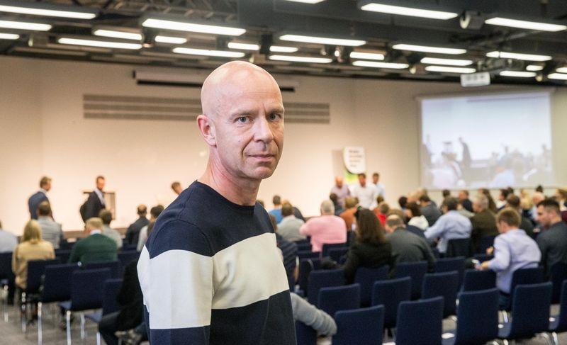 """Ignas Staškevičius, vienos didžiausių Lietuvoje verslo grupės """"Vilniaus prekyba"""" akcininkas. Juditos Grigelytės (VŽ) nuotr."""