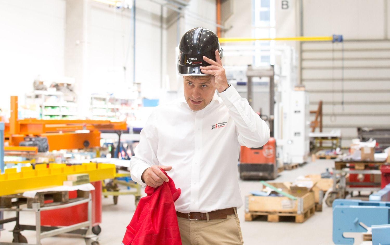 """""""Arginta Engineering"""" perka įmones Lietuvoje ir Suomijoje, gamyklą Panevėžyje išsinuomojo"""