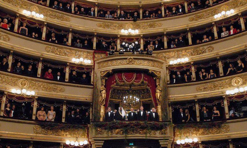 """La Scala"" jaunimui už 2 Eur siūlys apsilankyti 22 sezono renginiuose. Marco Brescia (""Reuters"" / ""Scanpix"") nuotr."