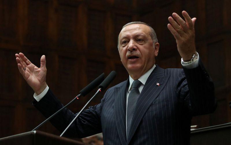 """Turkijos prezidentas Recepas Tayyipas Erdoganas. Umito Bektas (""""Reuters"""" / """"Scanpix"""") nuotr."""