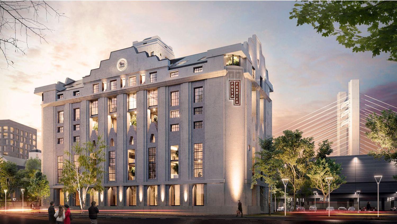"""""""Hanner"""" Bukarešte pradeda įgyvendinti biurų ir butų projektą"""