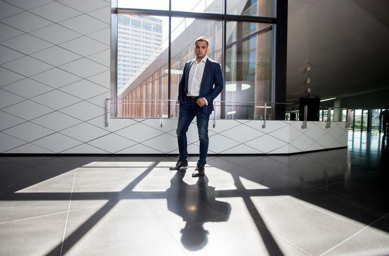 """Renatas Žeknys,  """"Swedbank"""" finansų makleris. Juditos Grigelytės (VŽ) nuotr."""