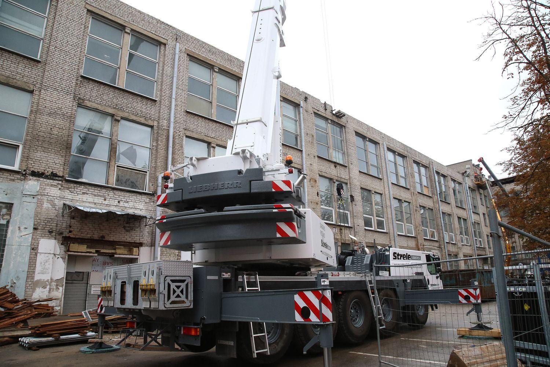 """""""Norfos"""" administracija kraustysis į naują pastatą"""