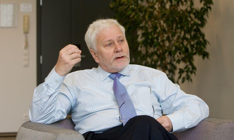 Prof. Friedrichas SchneiderisJuditos Grigelytės (VŽ) nuotr.