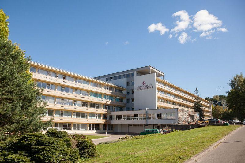Klinikinė Antakalnio ligoninė. Sauliaus Žiūros (savivaldybės) nuotr.