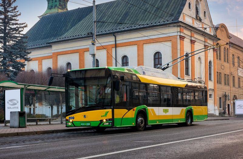 """""""Solaris Trollino 12"""" troleibusas. Gamintojų nuotr."""