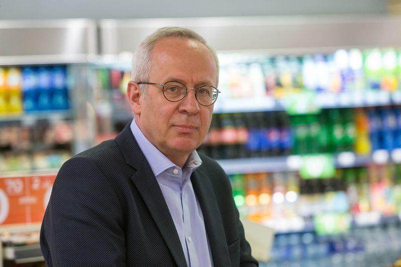"""Vygintas Bartaševičius, Norvegijos kapitalo bendrovės """"Reitan Convenience Lithuania"""" vadovas. Vladimiro Ivanovo (VŽ) nuotr."""